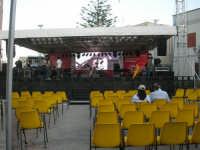 Cous Cous Fest 2007 - In piazza Santuario il palco - 28 settembre 2007      - San vito lo capo (1123 clic)