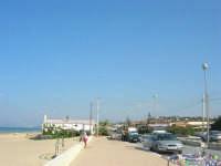Spiaggia Plaja - il lungomare - 12 ottobre 2008  - Castellammare del golfo (537 clic)