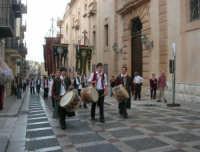 2° Corteo Storico di Santa Rita - Stendardieri di Petralia La Suprana - 17 maggio 2008   - Castellammare del golfo (580 clic)