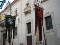 2° Corteo Storico di Santa Rita - Stendardi di Petralia La Suprana - 17 maggio 2008   - Castellammare del golfo (744 clic)