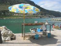 al porto - la bancarella del pesce - 5 aprile 2009   - Castellammare del golfo (1522 clic)