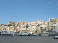 la città vista dal porto - 25 aprile 2008  - Sciacca (1281 clic)