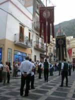 2° Corteo Storico di Santa Rita - Stendardieri di Petralia La Suprana - 17 maggio 2008   - Castellammare del golfo (507 clic)