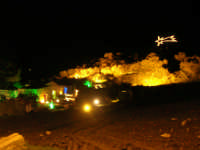 lo scenario del Presepe Vivente - 21 dicembre 2008    - Balata di baida (1159 clic)