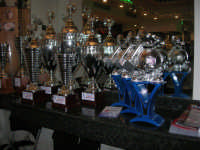 le Coppe del XXII Torneo COSTA GAIA - anno 2009 - esposte presso l'Enny Bar - 14 dicembre 2008   - Alcamo (1348 clic)