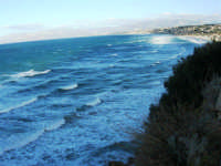 zona Campana: panorama del Golfo di Castellammare - 4 febbraio 2007  - Castellammare del golfo (828 clic)