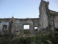 ruderi del paese distrutto dal terremoto del gennaio 1968 - 2 ottobre 2007   - Poggioreale (784 clic)