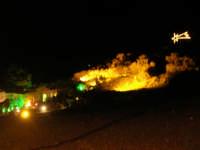 lo scenario del Presepe Vivente - 21 dicembre 2008    - Balata di baida (1375 clic)