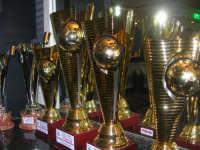 le Coppe del XXII Torneo COSTA GAIA - anno 2009 - esposte presso l'Enny Bar - 14 dicembre 2008   - Alcamo (1433 clic)