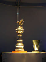 America's Cup Park sul lungomare: la mitica America's Cup & Louis Vuitton - 1 ottobre 2005   - Trapani (1968 clic)