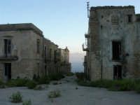 ruderi del paese distrutto dal terremoto del gennaio 1968 - 2 ottobre 2007   - Poggioreale (746 clic)