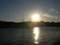 tramonto sul porto - 20 maggio 2007  - San vito lo capo (932 clic)