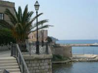 andando verso il Castello ed il porto - 7 maggio 2006  - Castellammare del golfo (917 clic)