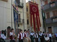 2° Corteo Storico di Santa Rita - Piazza Madonna delle Grazie - Stendardieri di Petralia La Suprana - 17 maggio 2008   - Castellammare del golfo (507 clic)