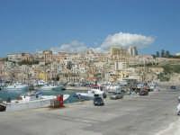 la città vista dal porto - 25 aprile 2008  - Sciacca (1367 clic)