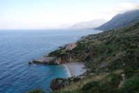 Cala Tonnarella dell'Uzzo e Golfo di Castellammare - 24 febbraio 2008  - Riserva dello zingaro (927 clic)