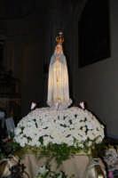 la statua della Madonna di Fatima ospitata all'interno della Chiesa di S. Maria del Gesù - 16 maggio 2008   - Alcamo (1063 clic)
