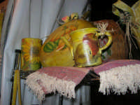 Cous Cous Fest 2007 - Expo Village - itinerario alla scoperta dell'artigianato, del turismo, dell'agroalimentare siciliano e dei Paesi del Mediterraneo - prodotti artigianali realizzati a mano - 28 settembre 2007   - San vito lo capo (652 clic)