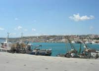 la città vista dal porto - 25 aprile 2008  - Sciacca (1099 clic)
