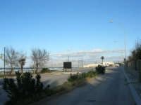 il lungomare tra La Battigia e la Tonnara - 4 febbraio 2007  - Alcamo marina (1804 clic)