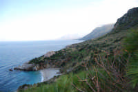 Cala Tonnarella dell'Uzzo e Golfo di Castellammare - 24 febbraio 2008  - Riserva dello zingaro (780 clic)