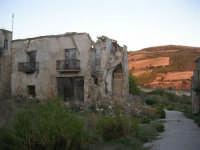 ruderi del paese distrutto dal terremoto del gennaio 1968 - 2 ottobre 2007   - Poggioreale (684 clic)