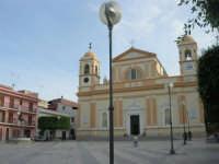 Piazza R.F. Evola - Chiesa Madre dedicata a Sant'Anna - 26 ottobre 2008  - Balestrate (2675 clic)