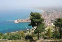 panorama della città e del golfo di Castellammare dall'Hotel Belvedere - 20 aprile 2008  - Castellammare del golfo (1009 clic)