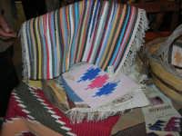 Cous Cous Fest 2007 - Expo Village - itinerario alla scoperta dell'artigianato, del turismo, dell'agroalimentare siciliano e dei Paesi del Mediterraneo - tappeti ericini, da Buseto Palizzolo (TP)- 28 settembre 2007   - San vito lo capo (774 clic)