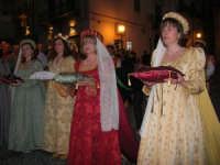 2° Corteo Storico di Santa Rita - Le dame con i segni della Santa - 17 maggio 2008   - Castellammare del golfo (503 clic)