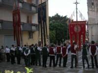 2° Corteo Storico di Santa Rita - Piazza Madonna delle Grazie - Stendardieri di Petralia La Suprana - 17 maggio 2008   - Castellammare del golfo (524 clic)