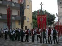 2° Corteo Storico di Santa Rita - Piazza Madonna delle Grazie - Stendardieri di Petralia La Suprana - 17 maggio 2008   - Castellammare del golfo (498 clic)