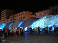 Porto: effetto di luci sull'America's Cup Park - 1 ottobre 2005   - Trapani (2542 clic)