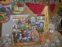 WINE WEEKEND - Vetrina dell'Alcamo DOC - ceramiche - Cortile del Collegio dei Gesuiti - 4 dicembre 2009  - Alcamo (2061 clic)