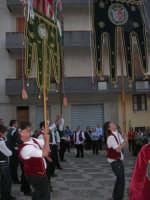 2° Corteo Storico di Santa Rita - Piazza Madonna delle Grazie - esibizione degli Stendardieri di Petralia La Suprana - 17 maggio 2008   - Castellammare del golfo (539 clic)