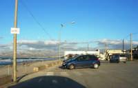 zona Canalotto: il piazzale dinanzi la spiaggia - 4 febbraio 2007  - Alcamo marina (1381 clic)