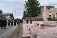commemorazione dei due Carabinieri (Appuntato Salvatore Falcetta e Carabiniere Carmine Apuzzo) uccisi all'interno della piccola caserma il 27 gennaio 1976 - 25 aprile 2006  - Alcamo marina (4464 clic)