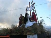 Processione della Via Crucis con gruppi statuari viventi - 5 aprile 2009   - Buseto palizzolo (2008 clic)