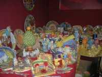 WINE WEEKEND - Vetrina dell'Alcamo DOC - ceramiche - Cortile del Collegio dei Gesuiti - 4 dicembre 2009  - Alcamo (2151 clic)