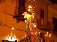 festa dell'Immacolata: la processione nel corso VI Aprile - 8 dicembre 2009   - Alcamo (2136 clic)