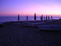 Lido al crepuscolo - 5 ottobre 2008   - Marinella di selinunte (783 clic)