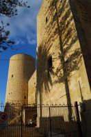 Castello arabo normanno - lavori di ristrutturazione - 11 ottobre 2007  - Salemi (2590 clic)