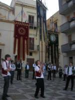 2° Corteo Storico di Santa Rita - Piazza Madonna delle Grazie - esibizione degli Stendardieri di Petralia La Suprana - 17 maggio 2008   - Castellammare del golfo (575 clic)