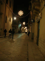 luci natalizie in corso VI Aprile - 21 dicembre 2008    - Alcamo (743 clic)