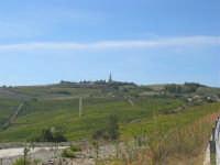 all'orizzonte il Colle Pianto Romano - 4 ottobre 2007  - Calatafimi segesta (905 clic)