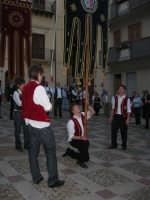 2° Corteo Storico di Santa Rita - Piazza Madonna delle Grazie - esibizione degli Stendardieri di Petralia La Suprana - 17 maggio 2008   - Castellammare del golfo (542 clic)