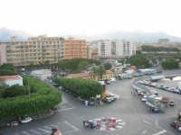 dal porto, vista sulla città - 10 agosto 2006 PALERMO Lidia e Nicola