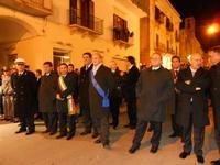 festa dell'Immacolata: la processione nel corso VI Aprile - le autorità - 8 dicembre 2009   - Alcamo (2643 clic)