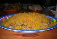 C/da Digerbato - Tenuta Volpara - antipasti: couscous - 27 aprile 2008   - Marsala (2780 clic)