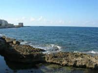 Via delle Sirene - la costa fino alla Torre di Ligny  - 28 settembre 2008   - Trapani (800 clic)